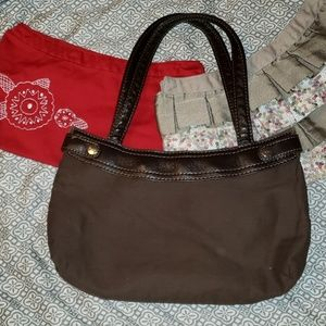 thirty-one suite skirt purse with 2 skirts